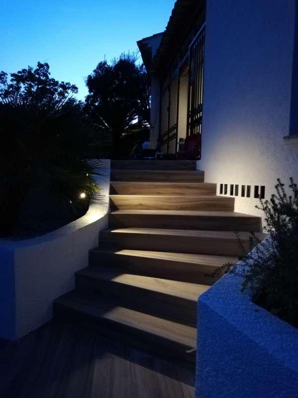 eclairage LED pour escalier