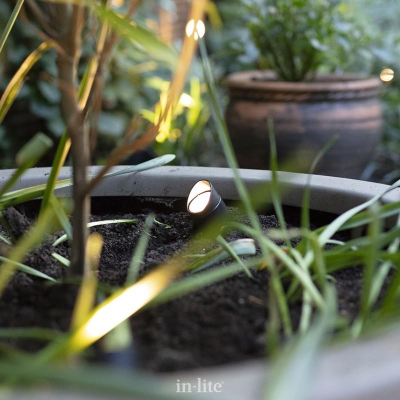 éclairage jardin basse tension in lite