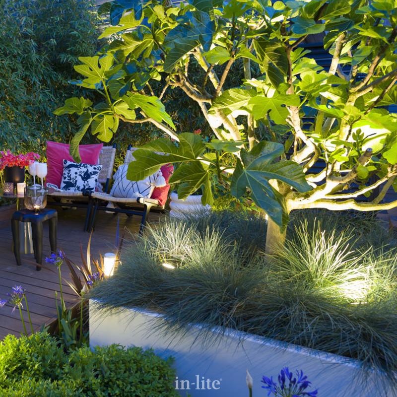 eclairage jardin in lite