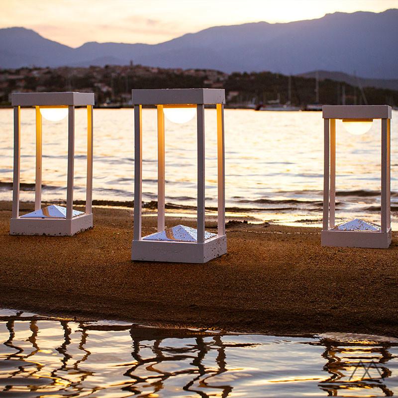 lampe solaire parc maiori