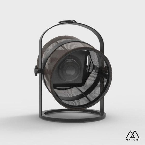 Lampe solaire Petite Cadre Charbon 2