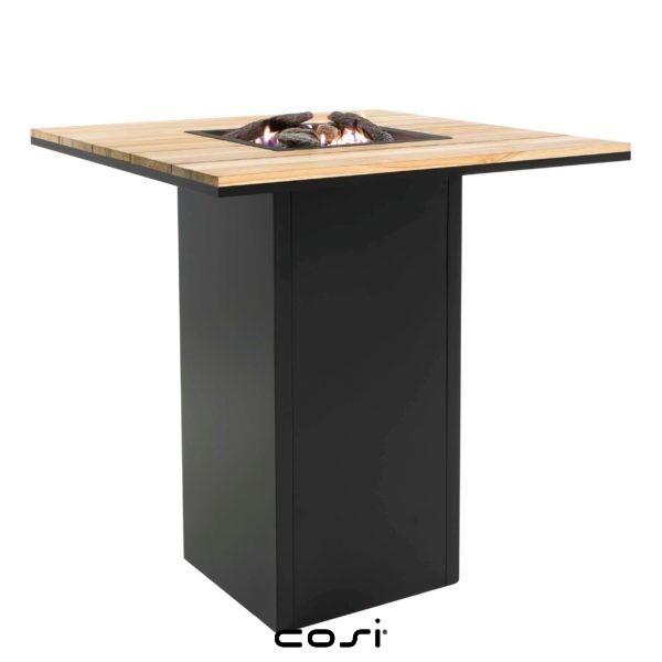 brasero table haute